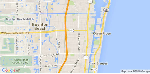 Boynton Beach-map